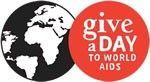 Give a Day to World Aids web logo