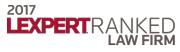 2017 Lexpert Ranked Law Firm logo