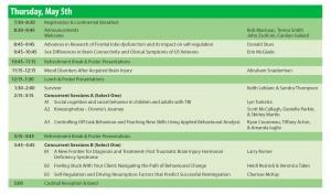 Hamilton ABI Conference Agenda for May 5, 2016