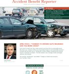 Accident Benefit Reporter May 2016 thumbnail