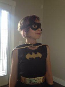 Zoe as Batwoman
