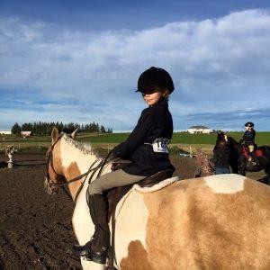 Zoe horseback riding