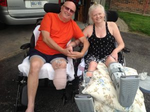 Photo of Wayne and Darlene submitted to Inspirational Stories