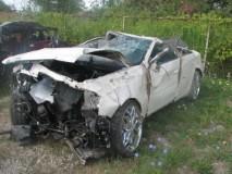 Image of car wreck
