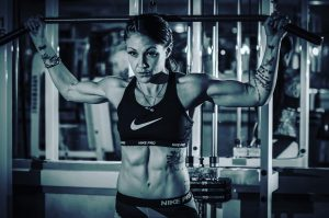 Julianna Leone working out image