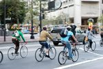Bicycling in traffic