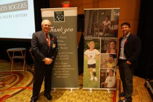 Thomson Rogers 80th Anniversary Charitable Giveaway - Alan Farrer and Darcy Merkur