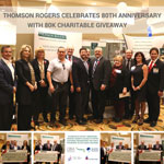 Thomson Rogers celebrates 80th anniversary with 80K charitable giveaway thumbnail