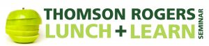 Thomson Rogers Lunch and Learn logo