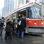 Image by Tony Bock - Dangers of streetcars