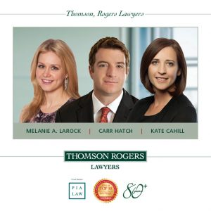 New Partners Announcement Melanie Larock, Carr Hatch and Kate Cahill 2017