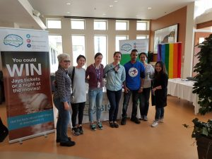 Volunteers at BIST's Brain Injury Awareness Event