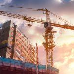 crane in construction site