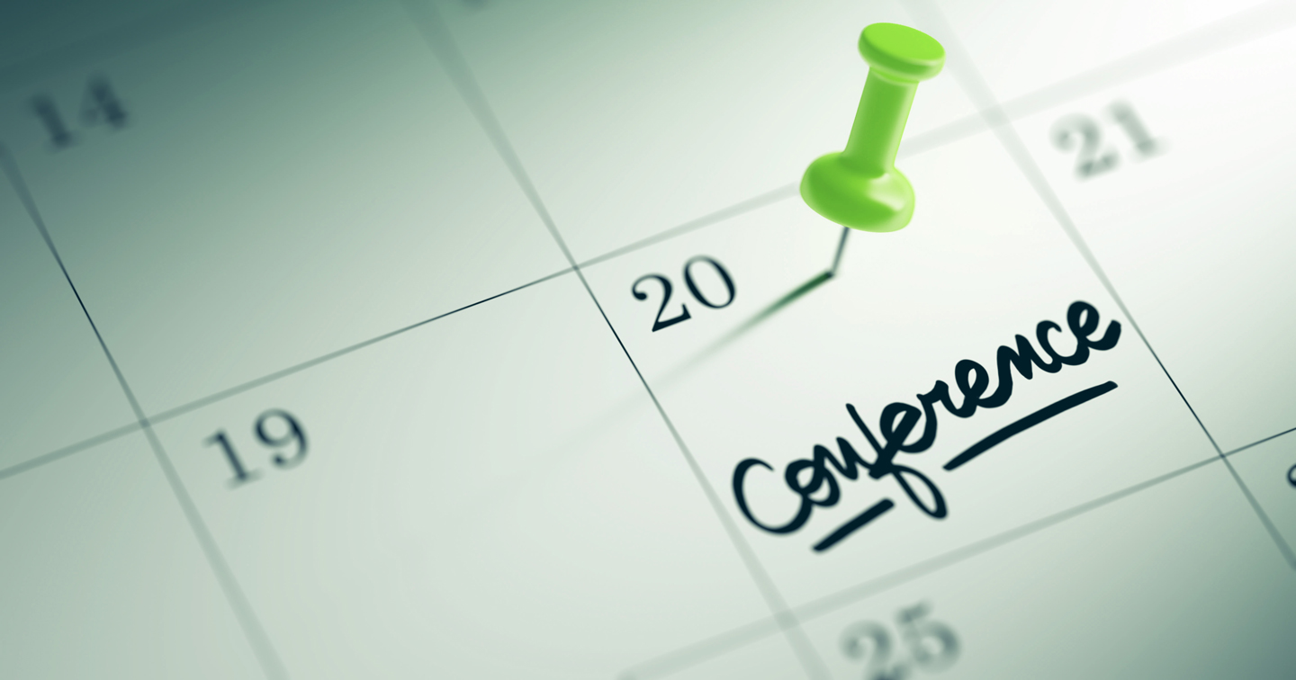conference marked on calendar
