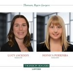 thomson rogers welcomes lucy jackson and monica poremba