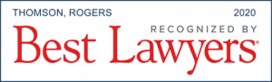 thomson rogers recognized in the best lawyers in canada 2020
