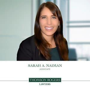 Sarah A Naiman Announcement