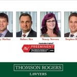Six Thomson Rogers Lawyers Rated AV Preeminent by Martindale-Hubbell