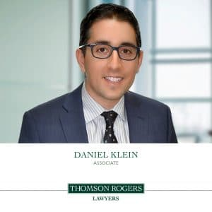 Daniel Klein Announcement