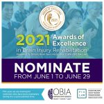 Nominations Now Open For The 2021 Awards Of Excellence In Brain Injury Rehabilitation