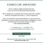 Family Law Associate